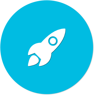 Icon (blue flat) - Rocket.png