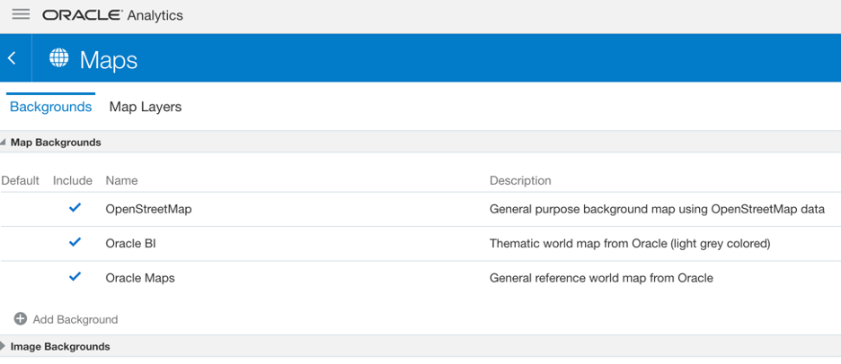 Oracle Analytics Cloud Data Map Layer (5)